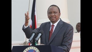 What President Uhuru told