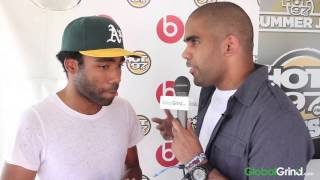 Childish Gambino Hints At His Upcoming Project And Talks Twitter Hate At Summer Jam 2014