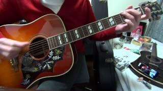 RCサクセションの「 Oh! baby 」をアコギで弾き語ってみました。