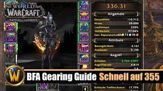 BFA Gearing Guide - Schnell auf 355