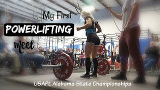 My First Powerlifting Meet | USAPL State Championships