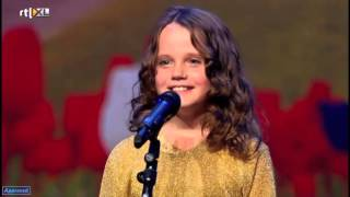 Amira Willighagen 9 year old got an amazing talent, in Holland got talent. Opera okt 2013 HD
