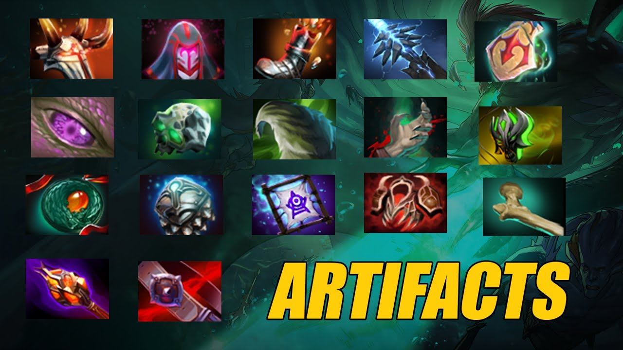 DotA 2: artifacts for heroes 80