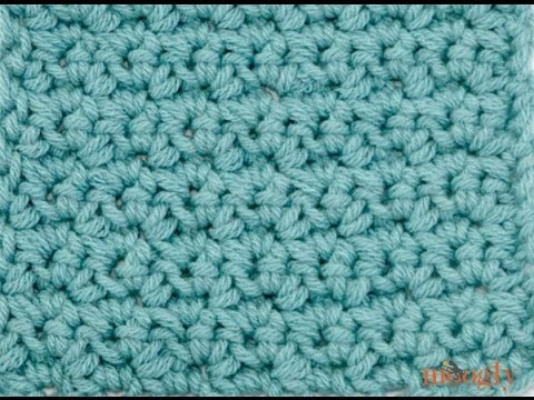 How To Crochet The Grit Stitch Youtube