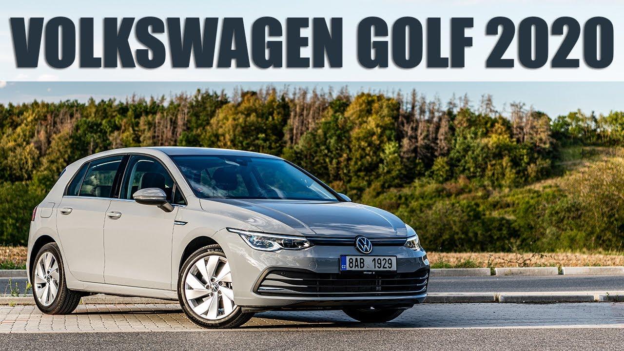 2020 Volkswagen Golf 1,5 TSI EVO mHEV, 4K 60 FPS POV TEST: Nový na první pohled, ale pořád Golf