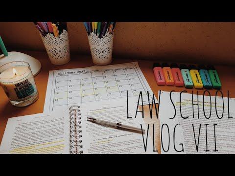 Exams Week in Law School | Law School Vlog #VII | Tiempo entre Códigos