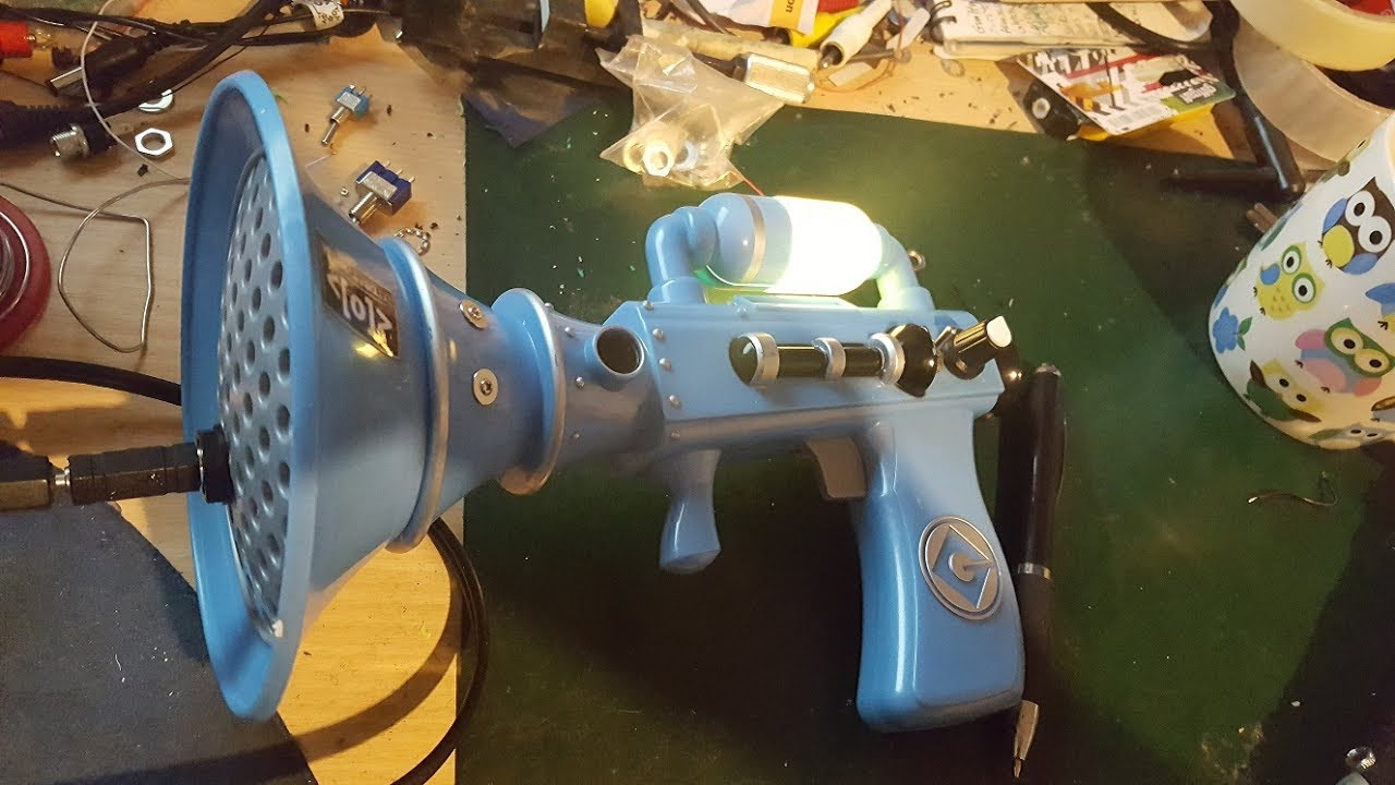 Circuit Bent Fart Gun By Psychiceyeclix Simple Ways To Bend A Toy Bending Pinterest