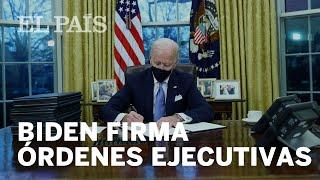 #EEUU | Biden inicia su mandato con un golpe de timón en la gestión de la pandemia