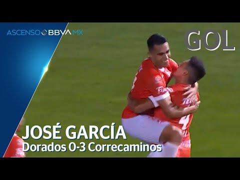 Gol de J. García | Dorados 0-3 Correcaminos | Jornada 1 - Clausura 2020 - Ascenso BBVA MX