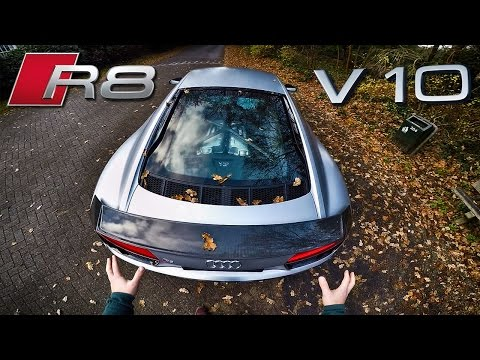 Audi R8 V10 Plus Review POV Test Drive