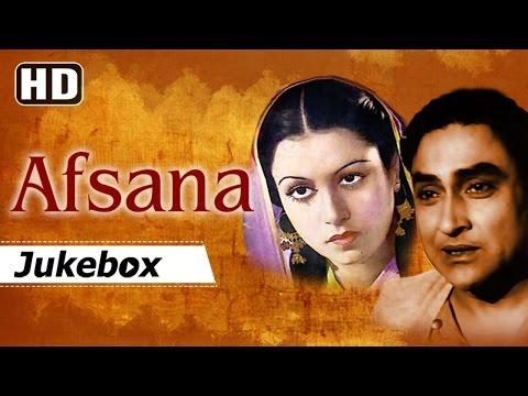 Afsana 1951 Songs | Ashok Kumar - Beena - Cuckoo - Pran | 50s Black & White Hits [HD]