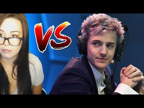 Ninja Won't Play Games With Me Because I'm A GIRL