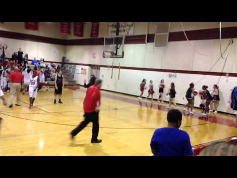 Robertsville Middle School Game Winning Shot