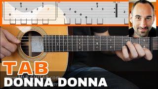 Donna Donna Guitar Tab
