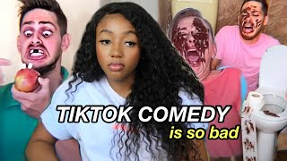 Watching Unfunny TikTok Comedy Until I Laugh