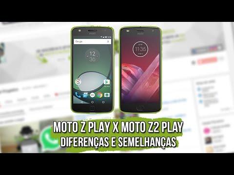 Moto Z Play vs Moto Z2 Play - Diferenças e Semelhanças