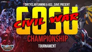 GOSU vs GUSO | CIVIL WAR | MOBILE LEGENDS NA S.5 CHAMPIONSHIP QUATERFINAL!
