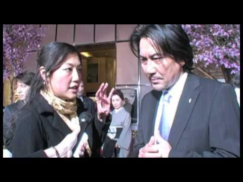 Koji Yakusho Interview - Memoirs of a Geisha