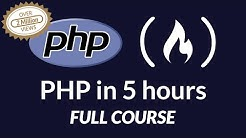 PHP Programming Language - Full Course