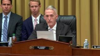 Rep. Gowdy Honors Law Enforcement Officers in Opening Statement