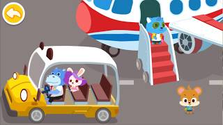 Baby Panda's Airport | Police Cartoon | Kids Cartoon | Peter Kids