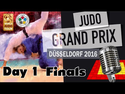 Judo Grand-Pix Düsseldorf 2016: Day 1 - Final Block