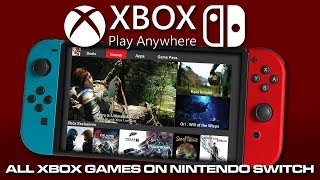 Cuphead & Xbox Live On Nintendo Switch | Xbox Game Pass On Switch | Xcloud