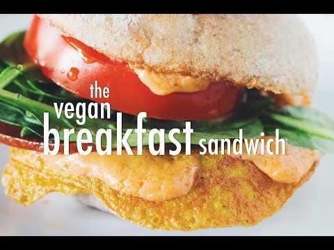 the vegan breakfast sandwich | hot for food