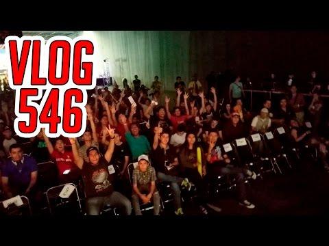 Vlog 546 | EGS y Alitas con la banda