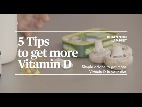 Strategies for Getting Enough Vitamin D