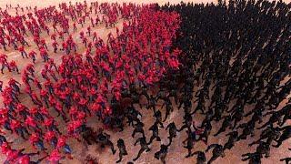 Spiderman VS Spider Monster VS Batman - Superheroes Battle Ultimate Battle simulator Epic