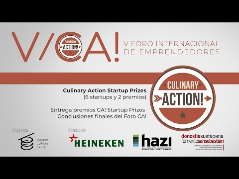 V Foro internacional CA! Culinary Action Startup Prizes