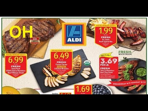 Aldi's Weekly Ads Ohio For This Week Valid To 8/15 2017