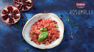 Kosumalli | கோசுமல்லி | Rakesh Raghunathan Udan | Vidiem Kitchen Appliances & Vidiem Fresh