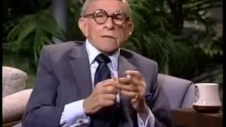 JOHNNY CARSON INTERVIEW GEORGE BURNS