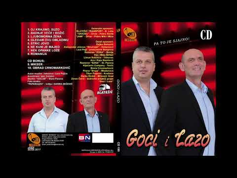 Goci i Lazo  - Obrad Crnomarkovic BN Music Audio 2017