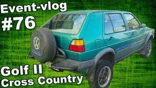 Event-VLOG #76 - prohlídka VW Golf Cross & Country