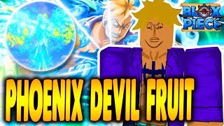 PHOENIX DEVIL FRUIT FULL SHOWCASE! | HUGE UPDATE BLOX PIECE IN ROBLOX | iBeMaine