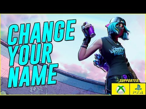HOW TO CHANGE YOUR FORTNITE NAME In Season 10 (How To Change Your Epic Games Name 2019)