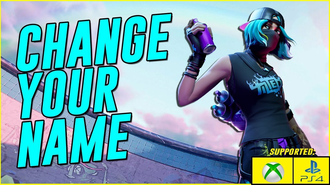 HOW TO CHANGE YOUR FORTNITE NAME in Season 10 (How to ...