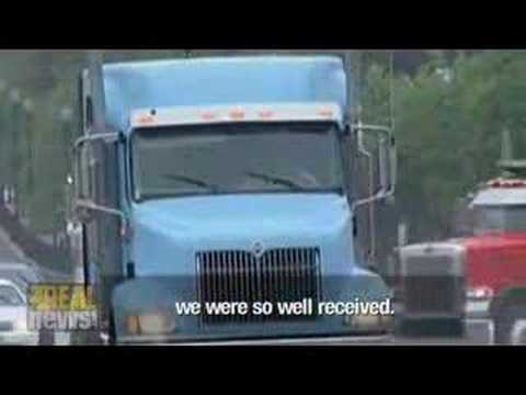 US truckers call for nation-wide shutdown