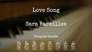 Love Song - Sara Bareilles   Ukulele Play Along
