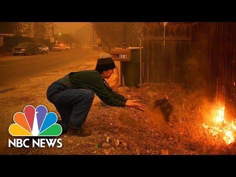 Californians Capture Devastating Scenes From Wildfires | NBC News