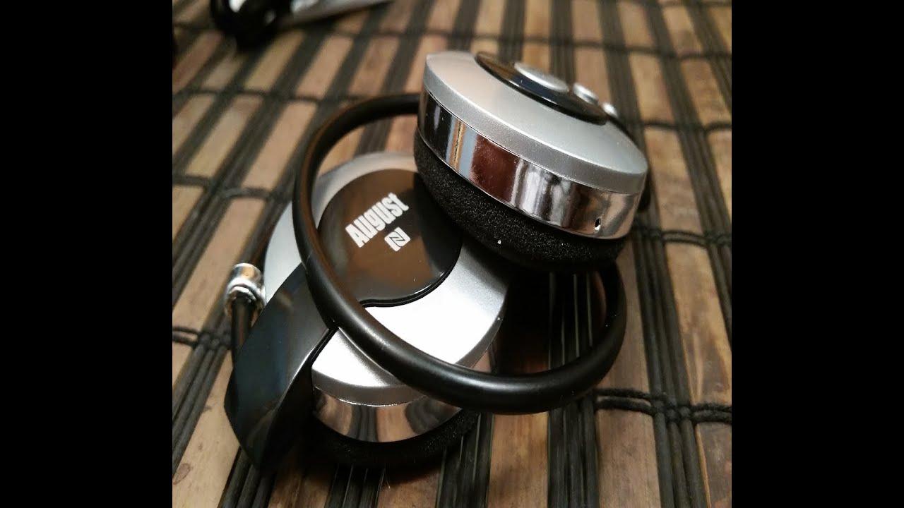 August EP615S Sport Bluetooth Wireless Headphones