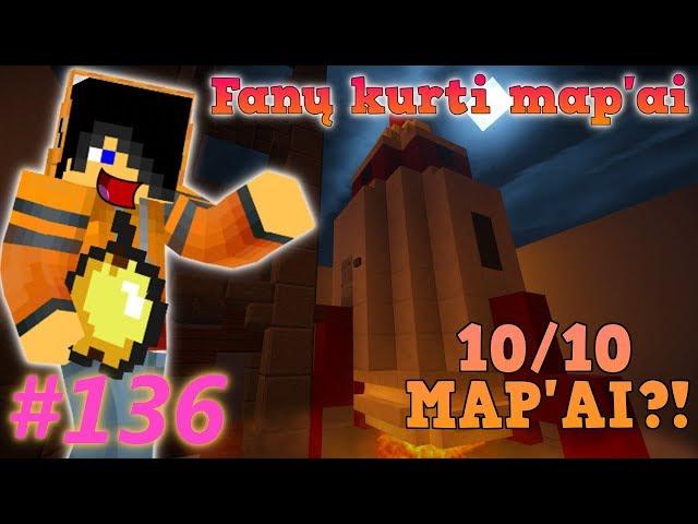 Edvisss Žaidžia Fan? Kurtus Mapus! [EP136] - 10/10 Mapai!!!