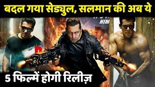 Salman Khan Upcoming Biggest Movie in 2019 to 2022 | Dabangg 3, Radhe, Tiger 3