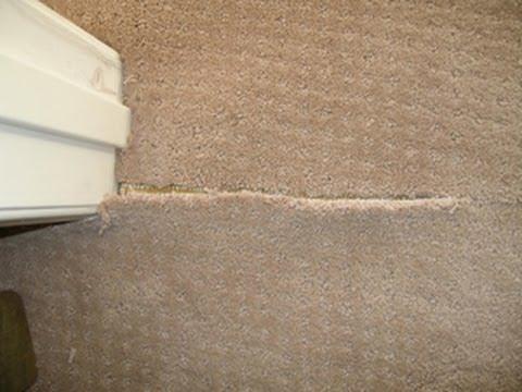 Carpet Repair San Jose - Carpet Seam Repair - YouTube