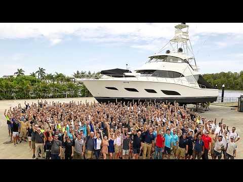 Riviera Luxury Motor Yachts 2018