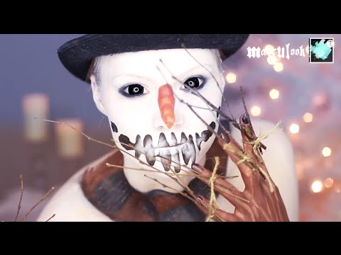 Snowman Makeup Tutorial