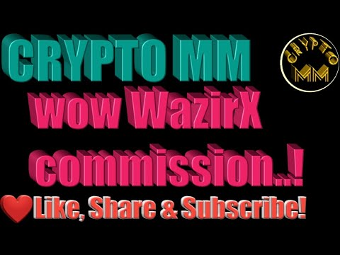 WazirX commission today | see my description | CRYPTO MM